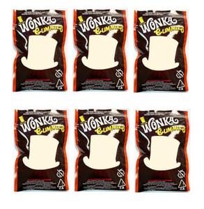 2020 뜨거운 판매 24 선박 Wonka Gummies Mylar 가방 500mg edibles 지퍼 파우치 마른 허브 담배 꽃 리반에 대 한 Smeproof 저장 소매 가방