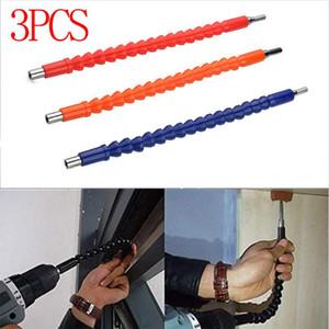 3шт Электроника Drill Гибкий вал Биты Удлинитель Отвертка Сверло Holder Подключение Link Отвертка питания Repair Tool