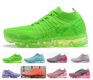 Formato 36-40 Nuovi colori 2018 Chaussures Moc 2 senza lacci 2.0 pattini correnti triple Nero Designer Sneakers mosca bianca Nike Air Max 2018 Airmax Vapormax