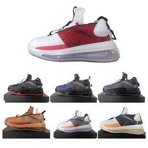 Top qualité loup-garou gris 720 Waves Sport Chaussures de course Hommes Noir Rouge Kakhi Luxe Sneakers Ore Entraîneur Designer Shoes Taille 40-45