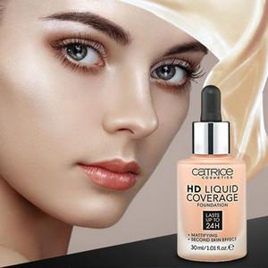 Marchio cosmetico Fondazione Catrice HD Liquid Foundation copertura impermeabile e duraturi Makup Fondazione Cura della pelle di trasporto