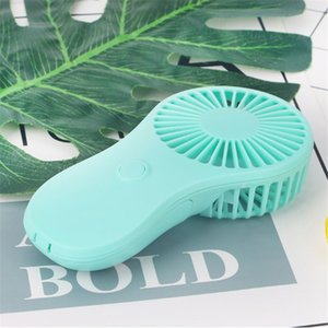 Il trasporto libero tasca portatile ventilatore freddo aria tenuto in mano di viaggio dispositivo di raffreddamento Fan Power di 3x AAA Battery Ufficio Esterni Casa mini ventilatore