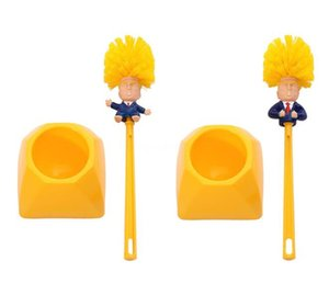 1 St. Wandhalterung WC-Bürstenhalter Trump Haushalts-Produkt-WC Trump Bürsten Werkzeuge Badezimmer-Reinigungs-Tools Badezimmer-Zubehör # 982