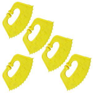 5 × Calving l'alimentazione dei vitelli Weaner Nose ispessito di plastica per i bovini Bestiame Mucca