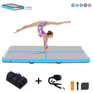 3m Rym قابل للنفخ Air Track Tumbling Matter 4inches Thickness Airtrack Mats for Home Use Electric Air Training Cheerleading