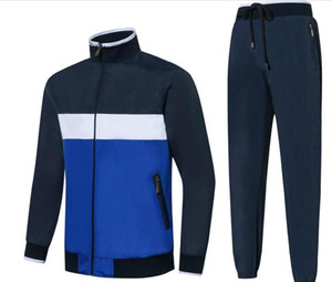 19ss abd takım marka at logosu erkek tasarımcı Eşofman Sonbahar kış 2pics golf giyim erkek ceket rüzgarlık rüzgar geçirmez top suit