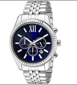 Классические модные мужские часы MK8280 кварцевые часы высокого качества бесплатная доставка