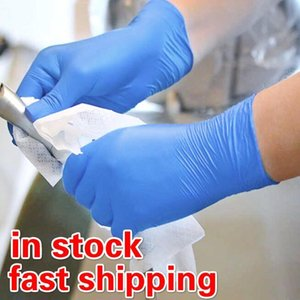 New Hot Sale 100pcs Disposable Household Latex Gloves Disposable Gloves Food Gloves Left And Right Universal Cleaning Y200421
