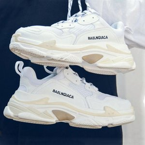 2020 FW Balenciaga Triple S Fashion Design Shoes Platform Sneakers Men's Women's Outdoor Casual Shoes Height Increase Old Dad Shoes