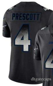 Black Smoke Fashion Limited Jersey Hombres Dallass DAL 4 19 21 54 55 90 jersey Camisas Todos los equipos Camisetas de fútbol americano 01