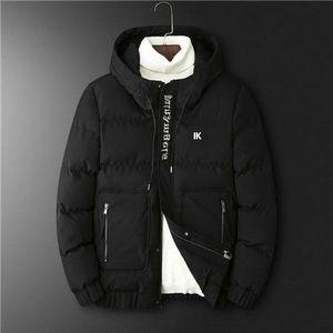 Mens Down Coat Autumn Winter New Casual Brand Jackets Mens Outwear Windbreaker Simple Lightweight Warm Parkas Coats Outwear Clothes B102322D