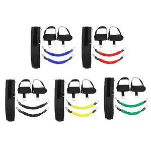 Jump Trainer Elastische Bänder Fitness-Kasten-Expander-Widerstand-Bänder Set für Basketball Volleyball Fußball Bein Beweglichkeitstraining