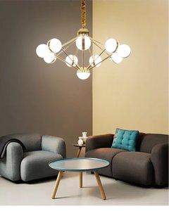 Glanzplatte Chrom Gold Metall Led Kronleuchter Lichter 5W pro Licht Lumiaria Innenbeleuchtung Anhänger Kronleuchter Beleuchtung Lamparas