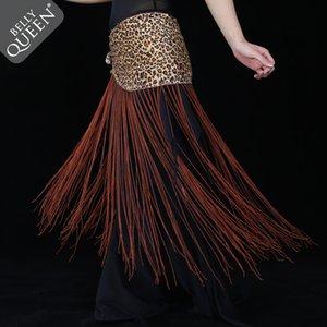 NEW! Спандекс танец живота костюмы старший сексуальный леопарда кисточкой танец живота пояса для женщин бедра шарф аксессуары