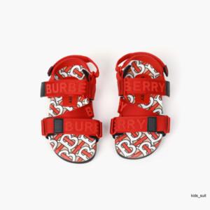 Sandalias de niños ocasional de moda del nuevo verano niñas tendencia de impresión sandalias de alta calidad 032809