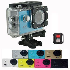"F60R Waterproof Action Camera 4K Wifi Sport Camera 2.4G 4K 30fps 1080P 2.0"" 170D Helmet Cam underwater Outdoor camera"