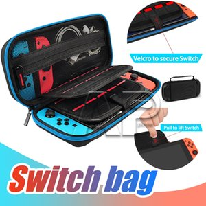 For Nintendo Switch Console Case Durable Game Card Storage Bag Carrying Case Hard EVA Bag shell Portable Carrying Bag Protective Pouch opp