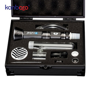 Kanboro Отопление Rod Съемные Керамический тепловой трубы для ногтей 510 V3 ECUBE Vape мазок комплект E Nail Dish Wax Oil Concentrate Kit