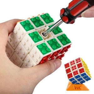 Intelligence toys Cyclone Boys Mini Finger 3x3 Speed Cube Stickerless Finger Magic Cube 3x3x3 Puzzles Toys wholesale 04