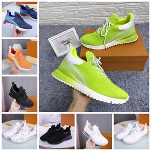 VNR Sneakers novo treinador Shoes Homens Mulheres Running Shoes Low Top Homens Formadores Sapatos com caixa, recibo