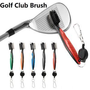 2pcs 골프 클럽 브러시 골프 그루브 청소 브러시 골프 퍼터 그루브 청소 도구 액세서리