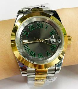 2813 automatique mécanique montre homme date 41mm en acier inoxydable verre saphir solide fermoir chiffre romain Just Dail montres de luxe