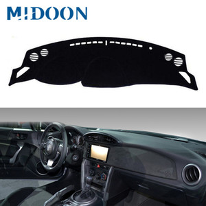 MIDOON Dashboard Car Cover Dash Mat Dash Pad Tapis Dashmat anti-UV Pour 86 GT86 FT86 Brz 2012-2015 2016 2017 2018