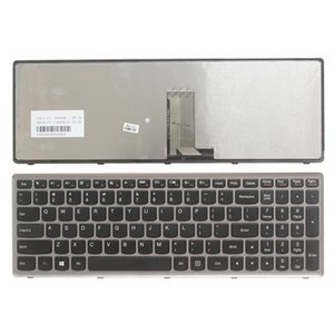 NOVO Inglês Laptop Keyboard para teclado laptop Lenovo Ideapad Z710 U510 US NO Backlight US Laptop Repair Keyboard