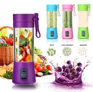 متعددة الوظائف خلط الكهربائية usb المحمولة عصارة كأس مصغرة المنزلية الفاكهة خلاط عصير الشخصية مع هدية مربع