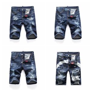 19ss hombres de la moda jeans rectos biker jeans ajustados pantalones casuales Cowboy Famous Brand Zipper Designer Hot Sale Mens Designer Jeansd DSQ03