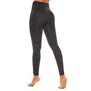 2019 Yiwu aumentar o tamanho Cuecas Camouflage impressão Calças Hip Yoga Sports Calças Hit Cuecas