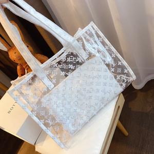 SUNNY BEACH trasparente ologramma laser Messenger Bag Jelly rosa Donne Borsa a tracolla femminile Harajuku Big Tote Ragazze Borse Bolsas g367