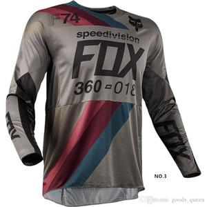 Honda Racing Suit Downhill Fuchs Jersey einen.Kreislauf.durchmachenabnutzung Hoodie Radfahren Rennen lange Ärmel Motorradanzug benutzerdefinierte 2019 neue Art Rapha Jerseys 004