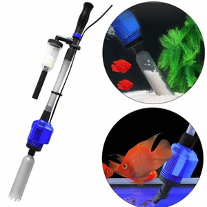 3 in 1 Electric Aquarium Vacuum Gravel Cleaner Automatic Water Changer Sludge Extractor Sand Washer Filter Pump for Fish Tank