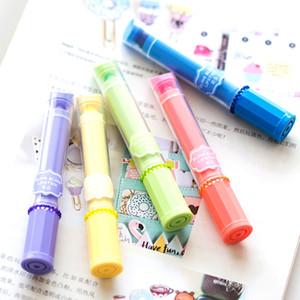 Мини-губная помада с подсветкой Флуоресцентная ручка-маркер Candy gel маркеры Офис Школьные принадлежности