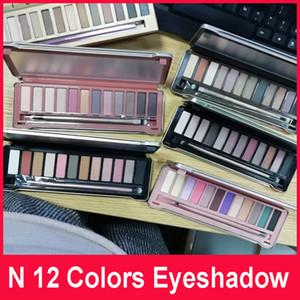 Desnudo maquillaje sombra de ojos paletas de sombras de ojos sombra de ojos palet 12 color nude 1.2.3.4.5.7.8.HEAT CHERRY miel Reloaded Paletas
