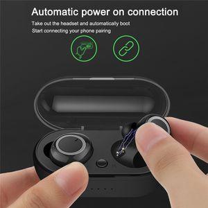TWS5 Bluetooth Earbuds auricolari Wireless Headset 5.0 cuffie auricolari wireless auricolari TWS supporto touch control
