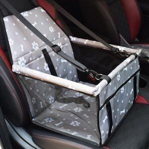 Oxford coche! Perros animal doméstico del gato del asiento almohada jaula plegable Crate Box llevar bolsas de Animales Suministros Transporte Chien cachorro