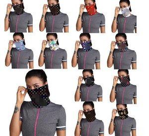 Designer Outdoor Bicycle Cycling Face Masks Bandanas Luxury Scarf Headband Neckerchief Mutilfunction Cap Sports Head Scarves Half Face Mask