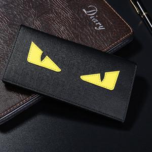 Vente chaude Portefeuilles Designer F E N D Portefeuilles De Luxe pour Hommes Noir Titulaires En PU Hommes Concepteurs Titulaires En Gros