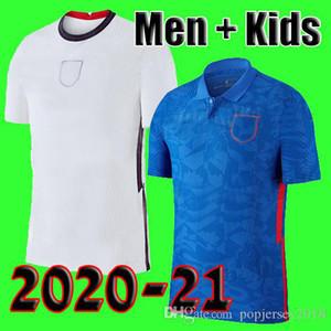 Таиланд качество Англия Футбол Джерси евро Кубок 2020 Кейн Стерлинг Рашфорд 20 21 национальные команды футбольные рубашки мужчины + дети комплект устанавливает униформу