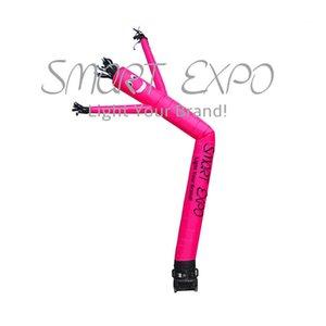Großhandel Handels Sky Dancer / Luftschlauch Mann für Werbung Promotion mit benutzerdefinierten Druck und Basis Blower Ø0.46x5m