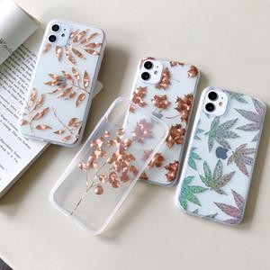 Vendita caldi Flower Design cassa del telefono per iPhone Pro 11 XS Max XR X 8 7 Plus Nuova SE 2020 Galvanotecnica copertura cellulare