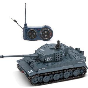 Great Wall Spielzeug 2117 1/72 Funk 14CH Elektro RC Tank Battle mit Licht Sound RTR Modell