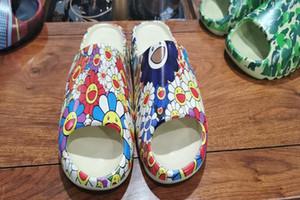 New Kanye west Slipper Men Women Kids Slides Bone Earth Brown Desert Sand Resin Slippers designer shoes Sandals Foam Runner sneakers