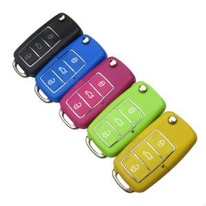 Ключи от машины Оболочка Для Volkswagen Vw Для Сиденья Для Skoda Jetta Golf Passat Beetle Polo Bora 3 Кнопка Замена Flip Remote