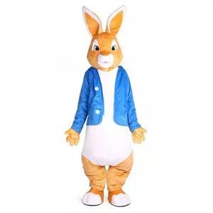 Peter trajes de la mascota conejo traje de Navidad Mascotas Traje unisex disfraces para adultos animales prieta fiesta de Halloween de Purim