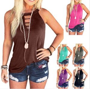 Europe and the United States explosions women's fashion round neck vest T-shirt blouse women free shipping