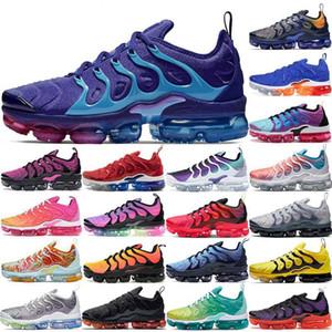 2020 para hombre del amortiguador de EE.UU. Tn además de aire de los zapatos corrientes de zapatos Regency púrpura Juego Real Triple Mujeres Deportes zapatillas de deporte al aire libre de los hombres formadores