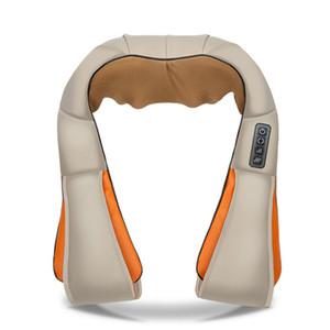 Ev Araç U Masa Elektrik Shiatsu Geri Boyun Omuz Vücut Masaj Kızılötesi Isıtmalı Yoğurma Araç / Ev massagem
